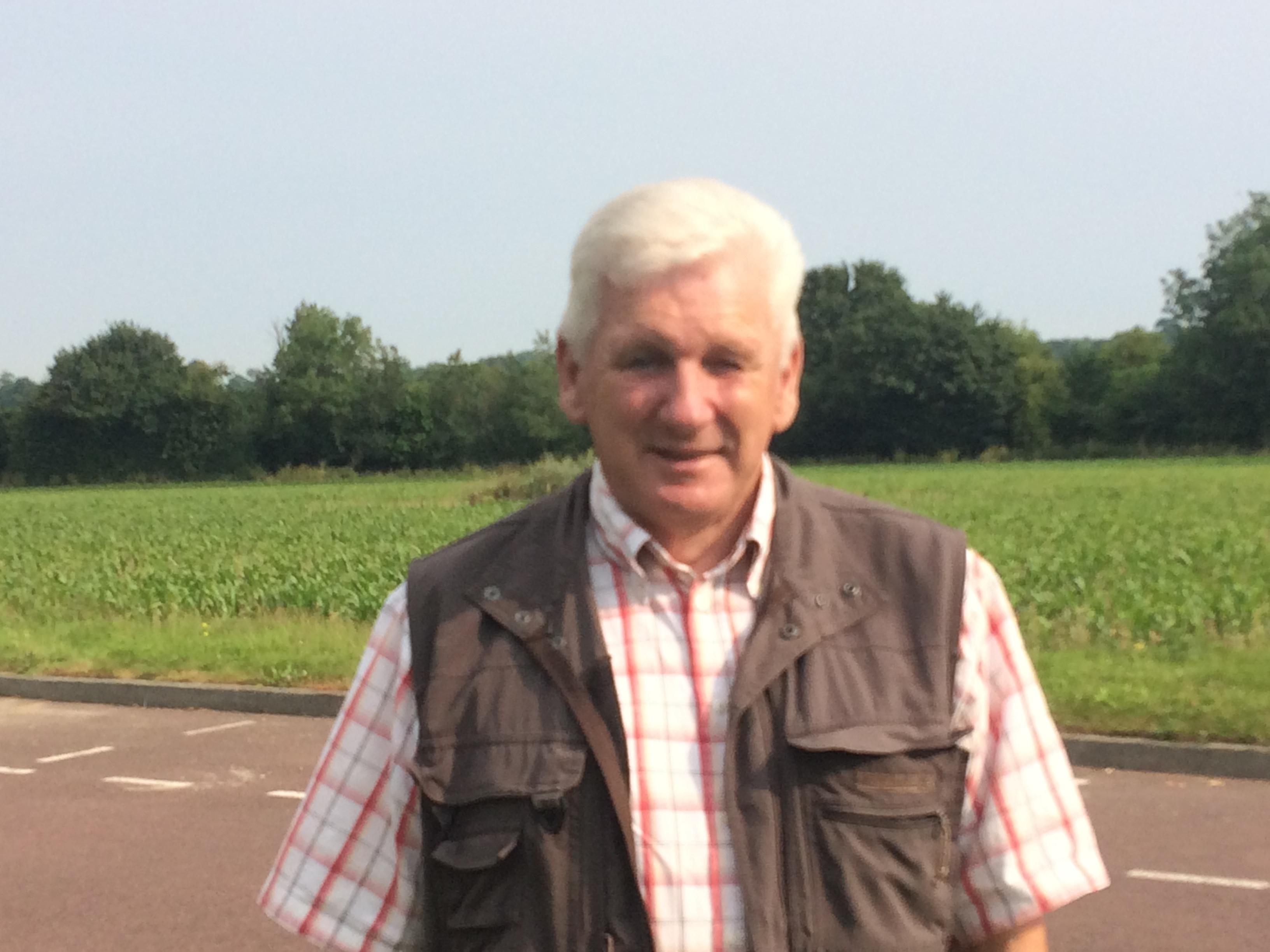 Alain Corniere, vice-président assainissement