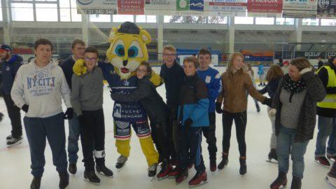 journée avec le hockey club de caen