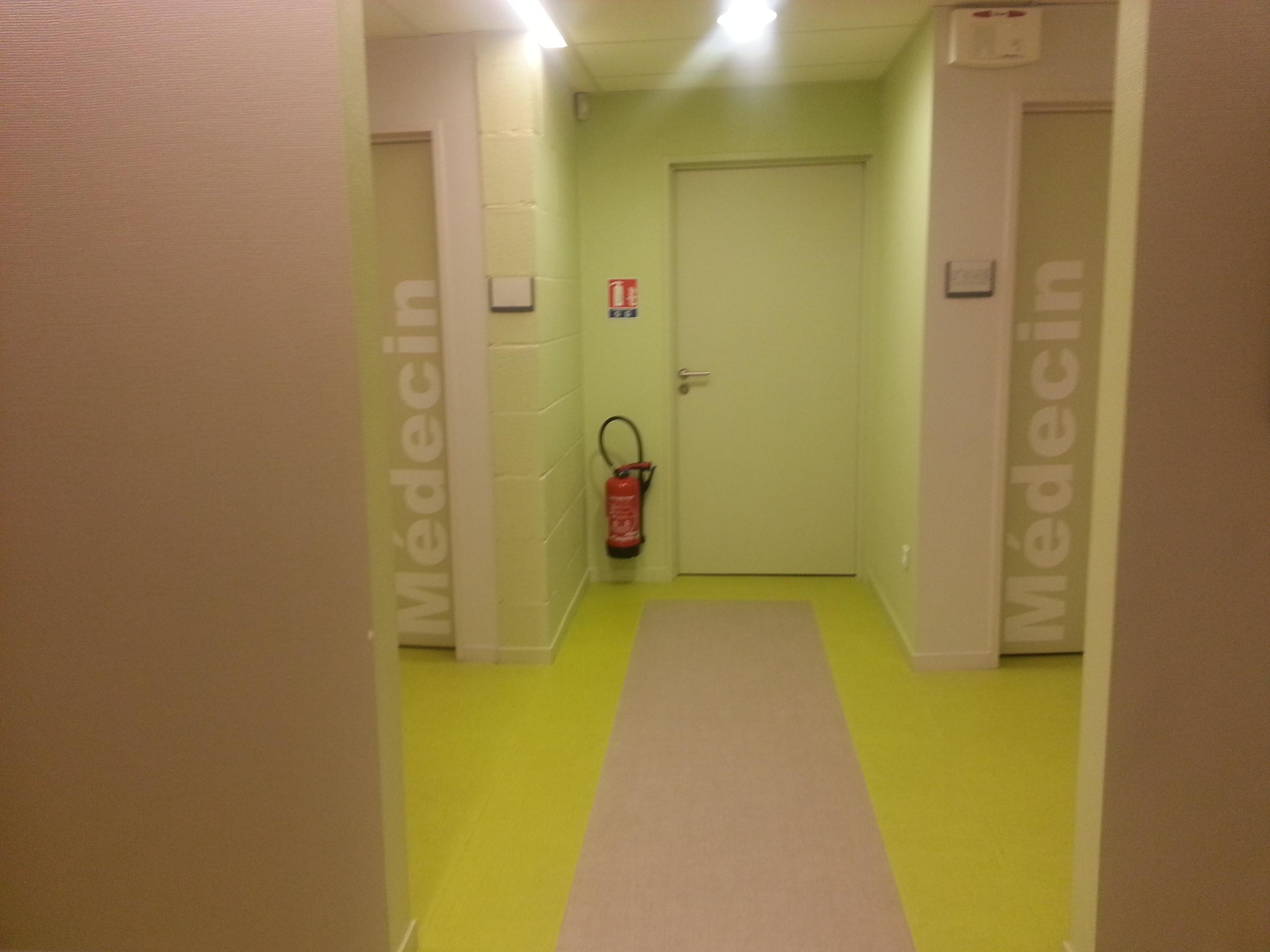 Couloir pôle santé Isigny